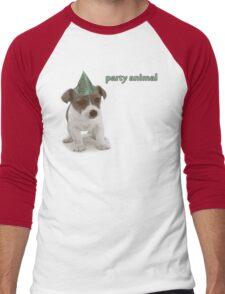 Party Animal Men's Baseball ¾ T-Shirt