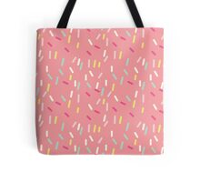 Sprinkles in Pink Tote Bag