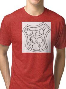 """Hello Sweetie""- Gallifreyan Tri-blend T-Shirt"