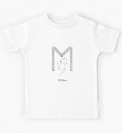 M is for Mouse Kids Tee