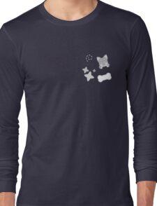 Burrito Puppy, Playful Pattern Long Sleeve T-Shirt