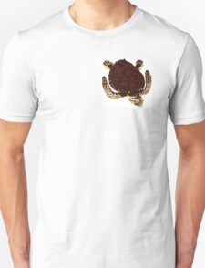 Swimming Turtle Isolated T-Shirt
