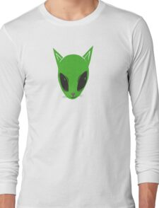 Alien Kitty Long Sleeve T-Shirt