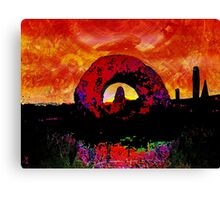 ANCIENT LANDSCAPE Canvas Print