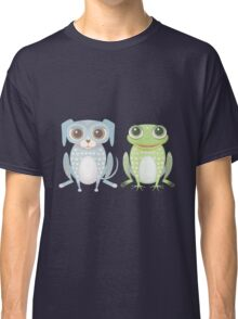 Prince Frog and Lanky Dog Classic T-Shirt
