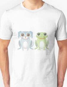 Prince Frog and Lanky Dog Unisex T-Shirt