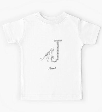 J is for Jaguar Kids Tee