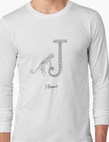 J is for Jaguar Long Sleeve T-Shirt