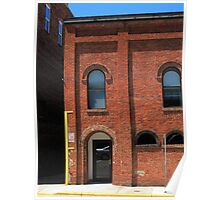 Burlington, North Carolina - Arches and Alley Poster