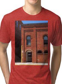 Burlington, North Carolina - Arches and Alley Tri-blend T-Shirt