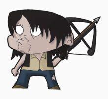 TWD Daryl Dixon chibi One Piece - Short Sleeve