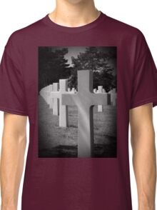 American Cemetery - Remember D Day June 6, 1944 Classic T-Shirt