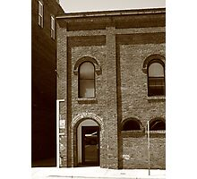 Burlington, North Carolina - Arches and Alley Photographic Print