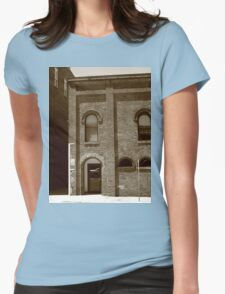 Burlington, North Carolina - Arches and Alley Womens Fitted T-Shirt