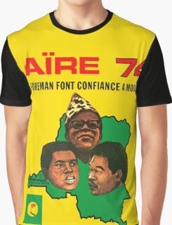 Zaïre 74 Graphic T-Shirt