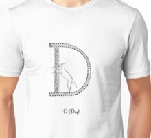 D is for Dog Unisex T-Shirt