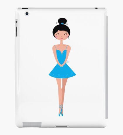 Beautiful Ballerina in Tutu Skirt ( Blue ) iPad Case/Skin