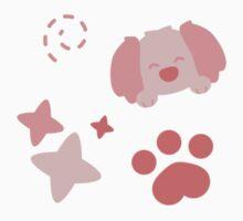 Potato Puppy, Playful Pattern Kids Tee