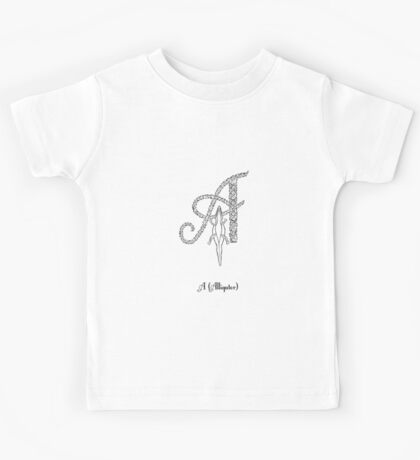 A is for alligator Kids Tee