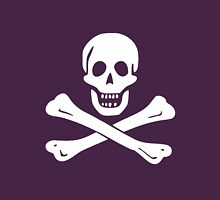 JOLLY ROGER-WHITE Unisex T-Shirt