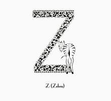 Z is for Zebra Unisex T-Shirt