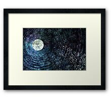 Moon Blessed Framed Print
