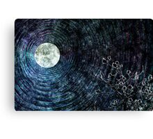 Moon Blessed Canvas Print
