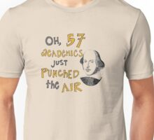 57 Academics (for light shirts) Unisex T-Shirt