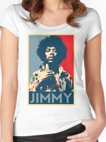 Jimmy Hendriks Hope Women's Fitted Scoop T-Shirt