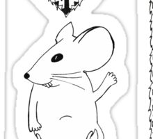 M is for Mouse Sticker