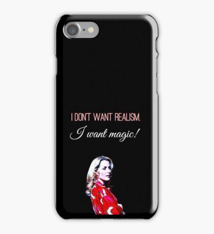 Gillian Anderson Streetcar iPhone Case/Skin