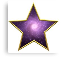 Space Star Nebula Canvas Print