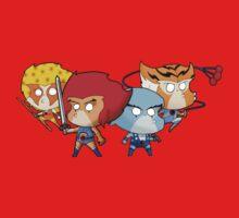 Thundercats Chibi One Piece - Short Sleeve