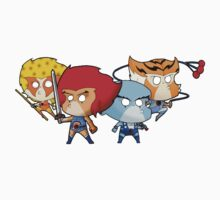 Thundercats Chibi One Piece - Short Sleeve