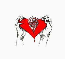 Ripped Heart Unisex T-Shirt