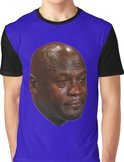 Crying Jordan Graphic T-Shirt