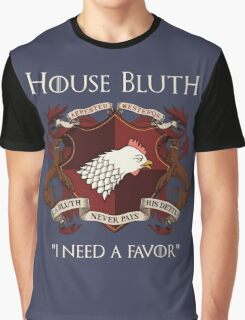 House Bluth Family Seal Graphic T-Shirt