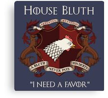 House Bluth Family Seal Canvas Print