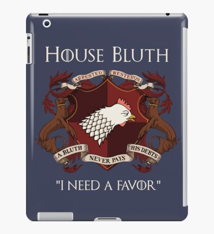 House Bluth Family Seal iPad Case/Skin
