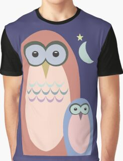 NIGHT OF THE OWLS Graphic T-Shirt