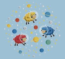 Space Sheep Kids Tee