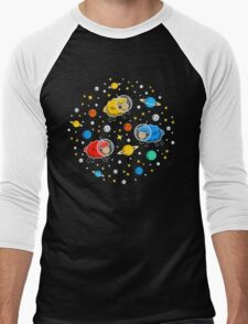 Space Sheep Men's Baseball ¾ T-Shirt