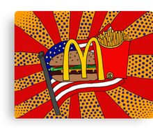 McDonald's Foodie Canvas Print