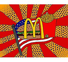 McDonald's Foodie Photographic Print