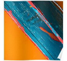 Color Abstraction LXII Poster