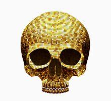 gold mosaic skull art Unisex T-Shirt