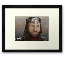 Aragorn's Coronation Framed Print