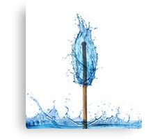 water flame Canvas Print