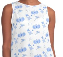 Teacup Koala, Playful Pattern Contrast Tank
