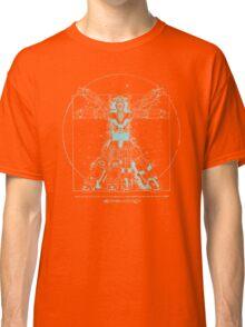 Voltruvian Man (Blue) Classic T-Shirt